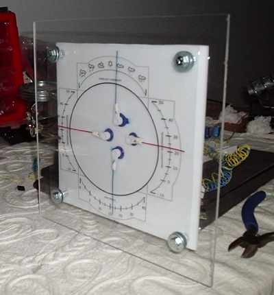 The Weather Machine device